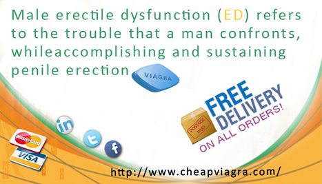 Viagra- A Supreme Solution for Erectile Dysfunction | Generic Viagra Online | Scoop.it