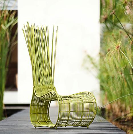 Mobilier design fauteuil et chaises fleur bloo for Chaise yoda