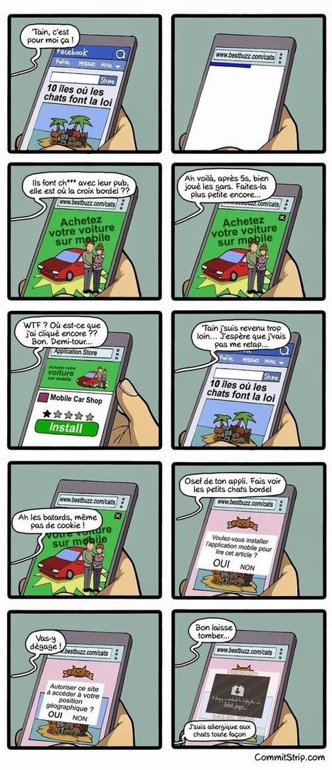 La navigation mobile en 2015 [humour]   mlearn   Scoop.it