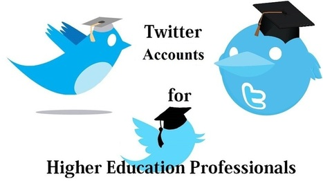 Great Higher Education Technology Expert Accounts to Follow on Twitter - EdTechReview™ (ETR) | Be Healthy | Scoop.it