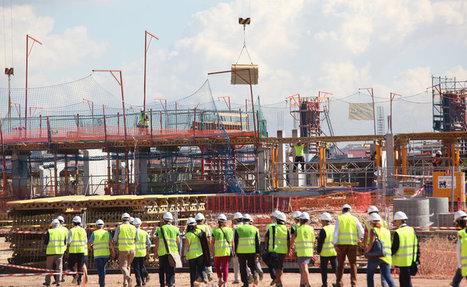 El palau d'esports dels Jocs té un 25% de l'obra executada | #territori | Scoop.it