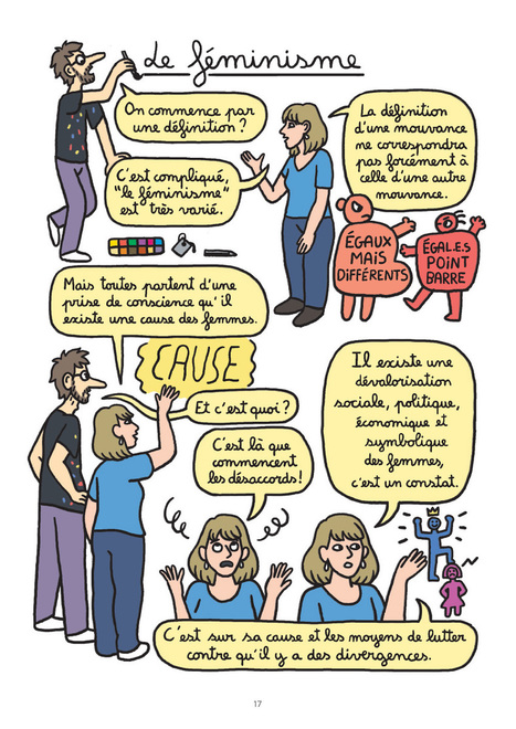 Petite et grande histoire du féminisme en bande dessinée   Egalité fille-garçon au lycée   Scoop.it