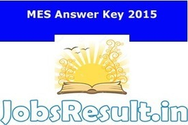 MES Answer Key 2015 | Group C and D Solved Paper | JobsResult.in | Scoop.it