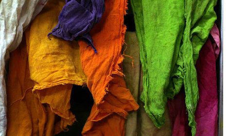 Clothing to dye for: the textile sector must confront water risks | Ethical Fashion | Scoop.it