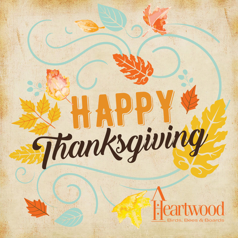Happy Thanksgiving from Heartwood! #heartwood #thanksgiving | Heartwood | Scoop.it