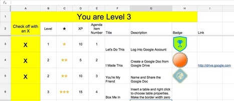 Suivre des tâches avec des points XP et des badges | Numérique & pédagogie | Scoop.it