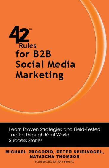 "Best of ""42 Rules for B2B Social Media Marketing"" - Business 2 Community   vgmoreno Social Media tips   Scoop.it"