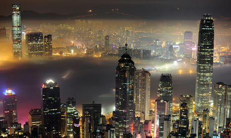 The Dizzying Cityscape of Hong Kong | Navigate | Scoop.it