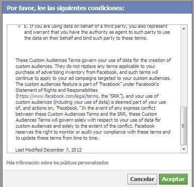 Qué es y Cómo Usar el Custom Audience de Facebook para Mejorar el Marketing de tu Empresa   Mercadeo   Scoop.it