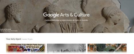 Google lanza nuevas herramientas para descubrir obras de arte con Arts & Culture | Recull diari | Scoop.it