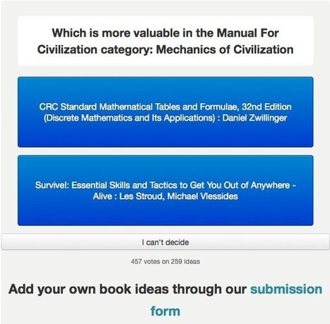 The Manual for Civilization Begins | Educational Technology | Scoop.it