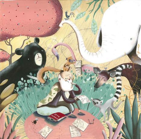 Noemi Gambini Illustrator: Melina | Graphics | Scoop.it