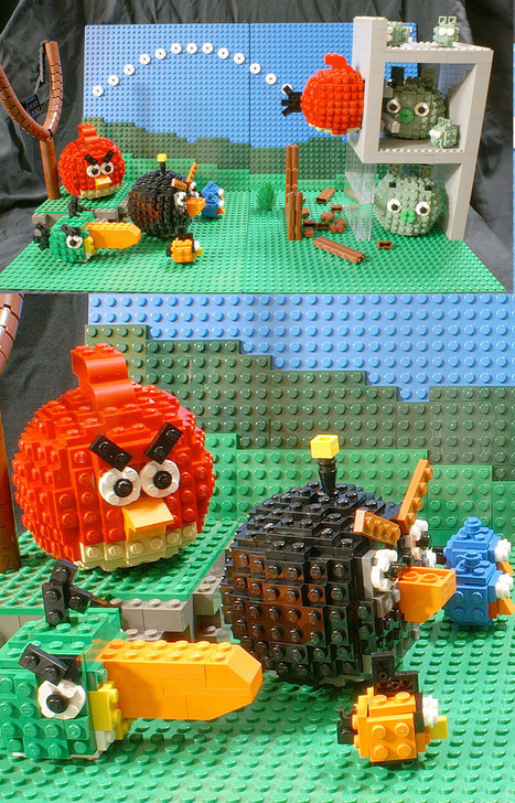 LEGO Angry Birds: Angry Bricks? | Angry Birds | Scoop.it