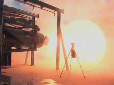 Watch a full-length blast for SpaceShipTwo's rocket engine | NBC News.com | The NewSpace Daily | Scoop.it