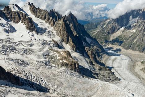 La fonte de la Mer de Glace attire les touristes | Economie de Montagne | Scoop.it