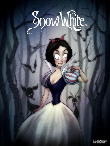 Si Tim Burton avait réalisé les Disney !! | BIB on WEB | Scoop.it