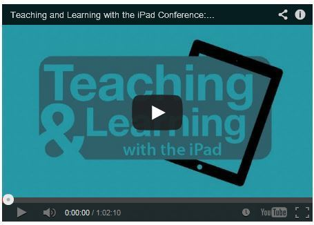 More Great Video Sessions from the Teaching and Learning with the iPad Conference - Emerging EdTech | History and English | Scoop.it