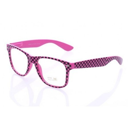 Fausses Lunettes Damier Rose style Wayfarer | Because Vintage is Fashion ! | Scoop.it