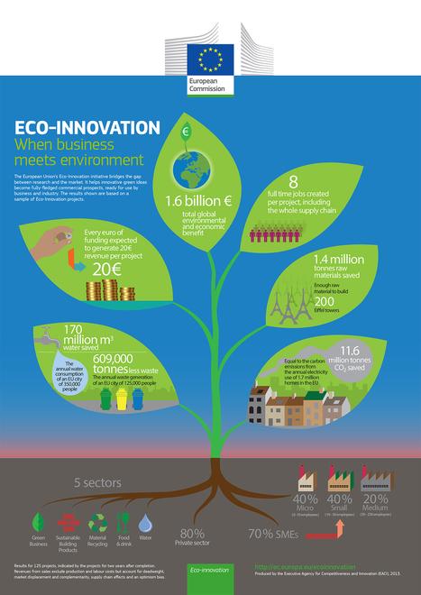Eco-innovation - Les premiers résultats des financements européens | Développement durable pour les entreprises et les collectivités | Scoop.it