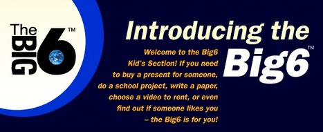 Introducing The Big6™ For Kids | Information Literacy 101 | Scoop.it