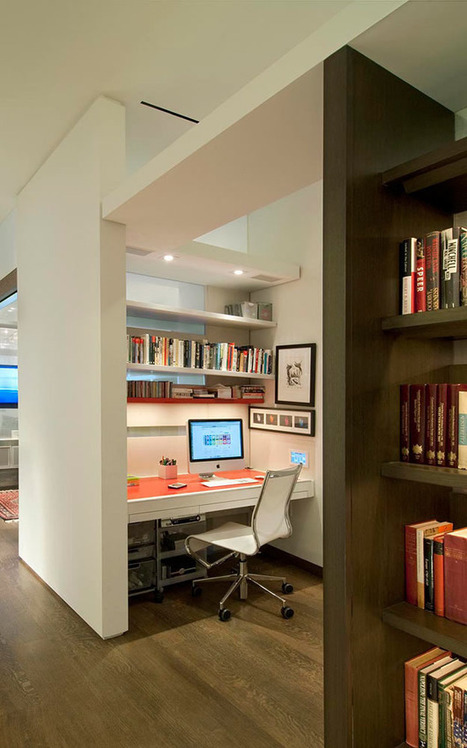 30 Creative Home Office Ideas: Working from Home in Style | real estate | Scoop.it