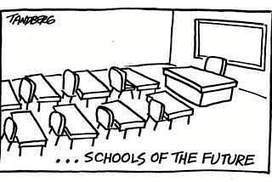Empty classrooms in schools of the future | Opening up education | Scoop.it