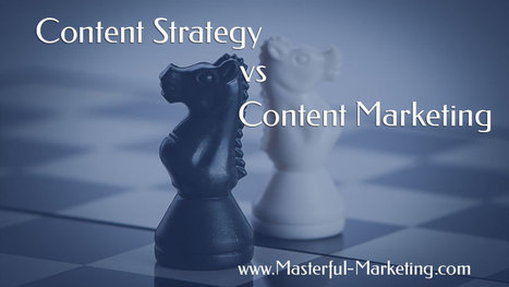 Content Strategy vs. Content Marketing – Do You Need Both? | Social Media | Scoop.it