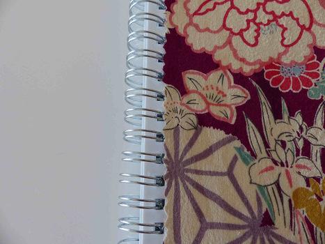 DIY Habiller un cahier de tissu | La minute déco | la minute deco | Scoop.it