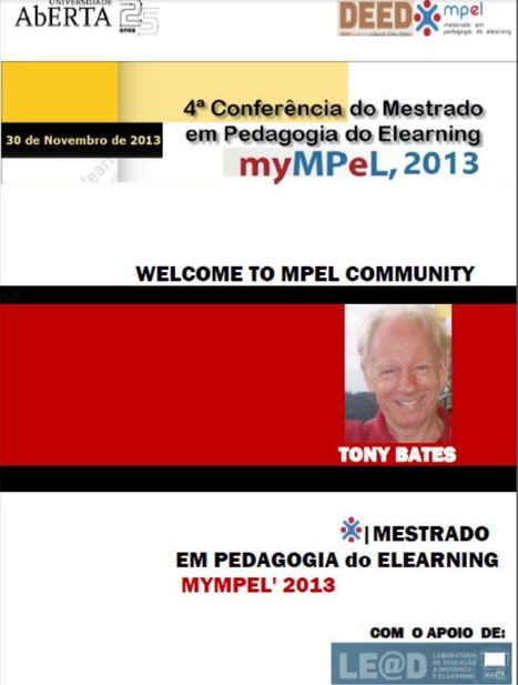 Tony Bates meet MPeL community at myMPeL2013 conference in Lisbon | Online Networked Learning | Scoop.it