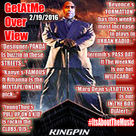 GetAtMe Overview for the week of 2/19/2016  Desiigner 'PANDA' is buzzin in these streets... #DjAlert   GetAtMe   Scoop.it