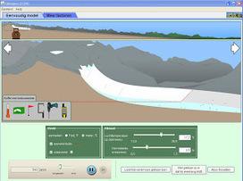 Interactieve simulatie: gletsjers | Aardrijkskunde Scoop | Scoop.it