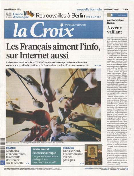 Des Français conscients et inquiets face à la crise de la presse | DocPresseESJ | Scoop.it