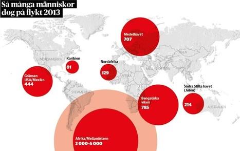 Minst 2.360 döda flyktingar under 2013 | Världen där ute | Scoop.it