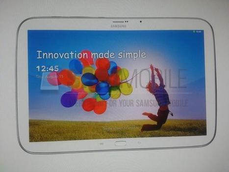 Alleged Samsung Galaxy Tab 3 Plus Photo Leaked   Nerd Vittles Daily Dump   Scoop.it