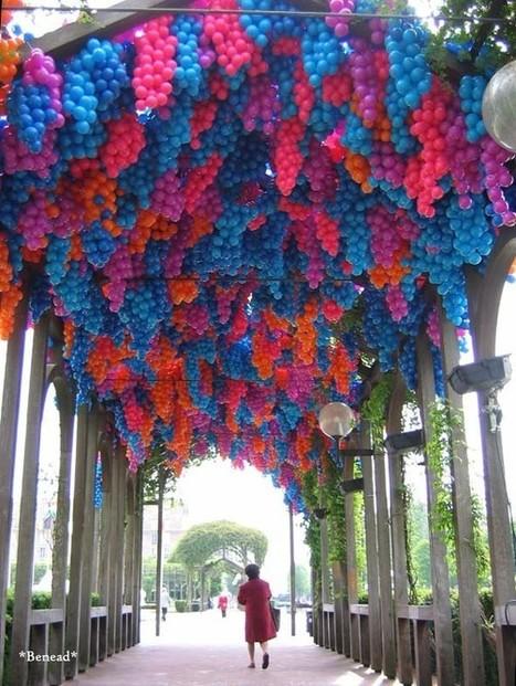 90,000 balons pour une installation inspirée par Monet | TrendsArt | Scoop.it
