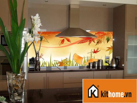 Những mẫu kính ốp bếp đẹp bền | face9x.com | Scoop.it