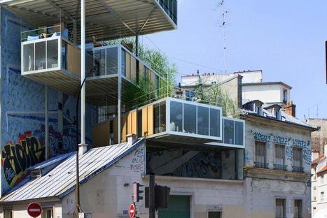 Des architectes veulent bâtir sur les toits de Paris | IFECO : Formations construction durable & efficacité énergétique | Scoop.it