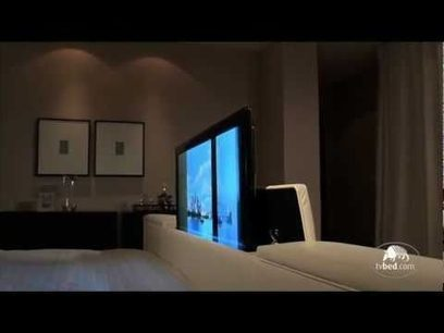 THE WORLD'S No.1 TV BED - INTEGRATING THE WORLD'S THINNEST LED TV SCREENS | Videos That Make You Happy, Sad and Feel Good | Scoop.it