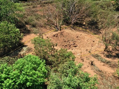 Meteor Leaves 40-Foot Crater Near Managua's Airport | Science is our friend | Scoop.it
