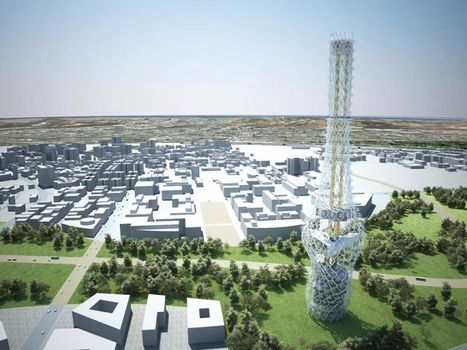 Green Megastructures: Tower of Power by NL Architects | Top CAD Experts updates | Scoop.it