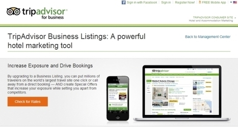 TripAdvisor raising the game for Business Listings with rates, availability and booking service | Innovation Hospitalité & tourisme | Scoop.it