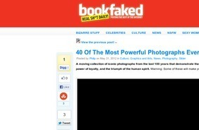 BookFaked & 40 Of The Most Powerful Photographs Ever Taken | Mudmap | Scoop.it