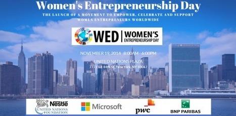 BNP Paribas soutient la Journée de l'Entrepreneuriat Féminin | Banque BNP Paribas | Femmes d'affaires | Scoop.it