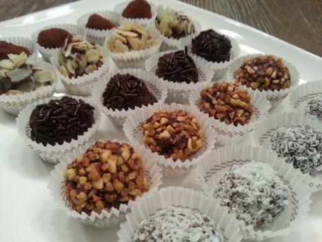 Chocoladetruffels in vele variaties | Lekker Tafelen | Lekker Tafelen | Scoop.it