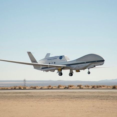 Ex-military spy drone to conduct NASA climate tests in Australian skies | Geography Bits | Scoop.it
