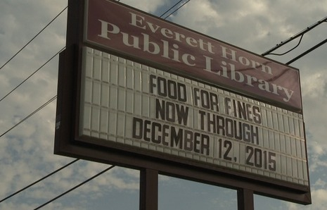 Bookworms catch break with Food for Fines month - WBBJ-TV | Tennessee Libraries | Scoop.it