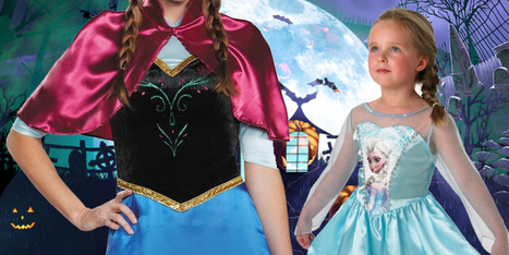 Dress Up Like Elsa, The Snow Queen – Halloween 2016 | Costume Shop and Party Supplies Ireland  online | Scoop.it