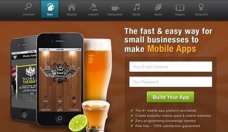 5 excelentes opciones para crear apps móviles sin saber programar | TIC | Scoop.it