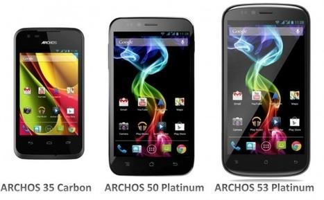 """Archos officialise ses smartphones """"Platinum"""" et """"Carbon"""" - FrAndroid   Geeks   Scoop.it"""