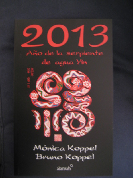 2013 Año de serpiente de agua yin por Mónica y Bruno Koppel, ed. Alamah | Chinese new year 2013 | Scoop.it